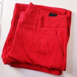 Women's Wide Leg Dress Pants/Trousers - Plus Size